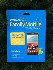 ALCATEL ONETOUCH FIERCE 2 7040T - 4GB - Black (T-Mobile ONLY) Smartphone