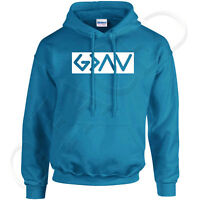 God is greater than  Hoodies The highs and lows Hooded Sweatshirt - 1772C