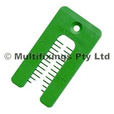 1000pcs - 2mm x 40mm x 75mm Plastic Horseshoe Window Packers / Shims
