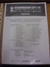 Teams O-R Queens Park Rangers FA Cup Football Programmes