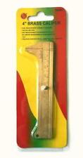 4 inch (100mm) Solid Brass Vernier Jeweler's Caliper - SE (Sona) 785BC