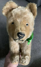 "WOW Antique 13"" Steiff Mohair Brown  Bear All 4s  Excelsior Stuffed Buy Now NR"