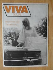 VAUXHALL VIVA SCOPE 1976 UK Mkt Promotional Publicity Brochure