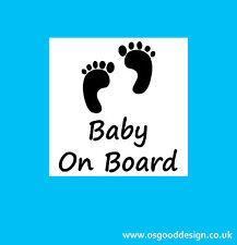 Baby On Board Boy Girl Son Daughter Kid Car Bumper Sticker Vinyl Child C208
