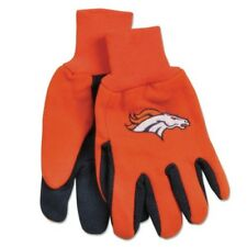 Denver Broncos Two Toned Team Colors Sport Utility Gloves Winter Summer NWT