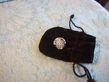 Swarovski Jewelry Tack pin Clear stones New in Gift Bag Scarab Style