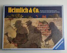 Heimlich & Co. Detektivspiel Ravensburger Spiel des Jahres 1986 OVP Brettspiel