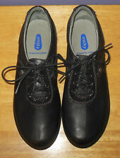 Gorgeous Wolky Nido Black Leather Lace-Up Shoes Oxfords Size 40 Euro 9 US