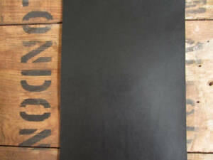 Black FULL GRAIN LEATHER COWHIDE PIECES 2-2.4mm thick VARIOUS SIZE leathercraft