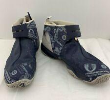 Reebok Answer 10 X Allen Iverson Pump Up Blue Money Print Georgetown Shoes SZ 15