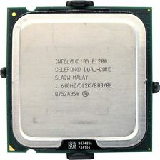 Procesador CPU Intel Dual Core E1200 1.60GHz 0.5MB LGA775