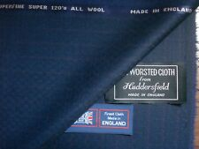 SUPER 120's SUPERFINE  WOOL SUITING FABRIC MADE IN ENGLAND–** 3.5 m= See Below**