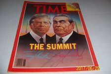 1979 TIME MAGAZINE Russian Leader LEONID BREZHNEV Jimmy CARTER The SUMMIT No Lab
