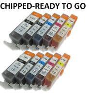 Canon Pixma MG5250, MG5300, MG5320, MG5350 Ink Cartridges PGI-525 CLI-526 X 10