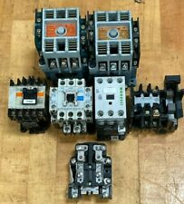 Lot of (7) Contactors / ASEA / Fuji / Mitsubishi / Klockner Moeller / Reliance