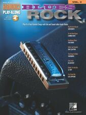 Blues Rock 00004000  - Harmonica Play-Along Book and Audio New 000000481