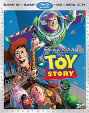 Toy Story (Blu-ray/DVD, 4-Disc Set, Includes Digital Copy 3D) BRAND NEW!!!