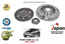 FOR TOYOTA YARIS VITZ 1.0 1.3 1999-2005 NEW 3 PIECE CLUTCH KIT COMPLETE