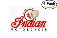 Indian Motorcycle Vinyl Sticker 3x5