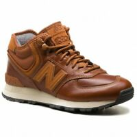 New Balance 574 Mid Leather Shoes Size 8 MH574OAD