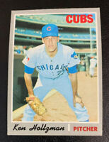 1970 Ken Holtzman # 505 Chicago Cubs Topps Baseball Card