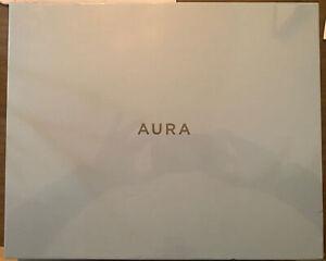 "AURA CARVER DIGITAL PICTURE FRAME 10"" CHARCOAL"