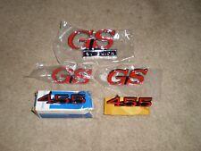 BUICK GS EMBLEM PACKAGE 5 PC 70 GS 455 71-72 GS 455