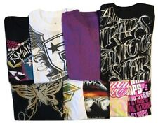 FAMOUS STARS & STRAPS Womens Shirts NEW GIANT LOT OF 9 Mixed Sizes L to XL