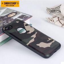 Cover MIMETICA Militare Morbida Custodia Silicone Camouflage Per IPHONE 7/8
