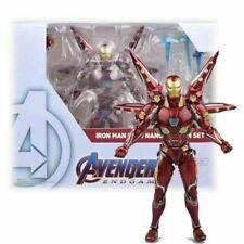 Marvel Avengers S.H.Figuarts SHF Iron Man MK50 Nano Weapon Action Figures Toy