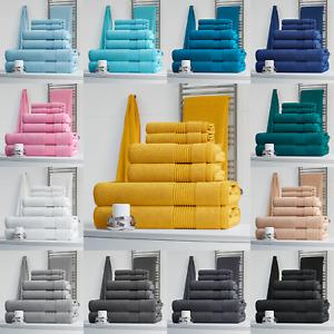 NELLA MILAN 100% EGYPTIAN COTTON 6 PIECE TOWEL BALE SET FACE HAND BATH TOWELS