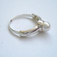 Vintage Ring with Pearl, Vintage Ring mit Perle