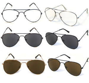 R293 Unisex Metal Pilot Sun Reader/Reading Glasses/Classic Stylish Small Shape