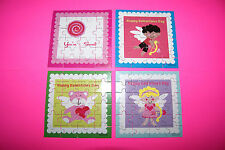 Set of 4 Happy St. Valentine's Day 24 pc. Mini  Jigsaw Puzzles FREE SHIPPING BCR