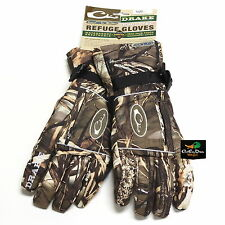 DRAKE WATERFOWL SYSTEMS LST GORE-TEX REFUGE GLOVES MAX4 CAMO SMALL S