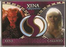 Xena Dangerous Liaisons Carte Collezionabili Doppio Costume DC3 Callisto