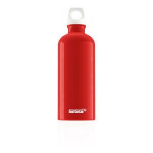 Sigg Unisex Fabulous 600ml Botella Cantimplora Rojo Deporte Exterior Ligero
