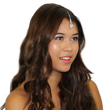 Kristin Perry Swarovski Crystal Tikka Chain Headpiece
