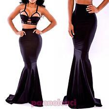 da0cd7bb6 Faldas de mujer largas negros | Compra online en eBay