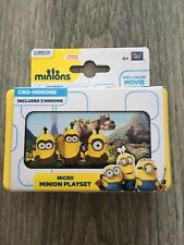 MINIONS MICRO PLAYSET - CRO-MINIONS - BNWB - AGE 4+