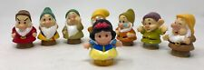 Disney Fisher Price Little People Snow White & The Seven Dwarves Set