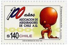 Chile 1999 #1942 100 años Asociacion de Aseguradores de Chile MNH