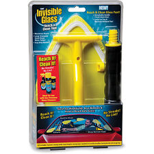 Invisible Glass REACH & CLEAN TOOL Windshields Windows AUTO BOAT Corners Curves