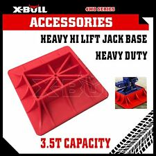 X-BULL Hi Lift Jack Base Plate for Mud & Sand Recovery High Farm Jack 4X4 4WD