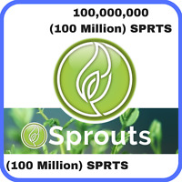 100,000,000 Sprouts (100 Million SPRTS) CRYPTO MINING-CONTRACT, Crypto Currency