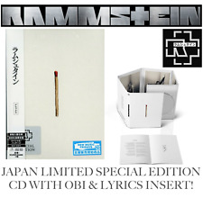 Giappone SPECIAL EDITION CD with OBI & Kaku insert! Rammstein 2019 Untitled album