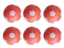 6PCS orange&white 36mm SOCCER TABLE FOOSBALL footBALL babyfoot ball texture