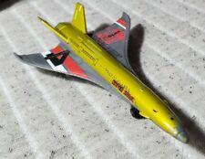 "MATCHBOX MBX SKY BUSTERS HYPER SONIC JET #4 Gold Test Flight 3 5/8"" Long Diecast"