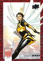 WASP / 2018-2019 MARVEL ANNUAL (Upper Deck 2019) BASE Trading Card #20