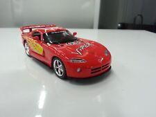 Dodge Viper Gts-R Rojo Kinsmart Coche Juguete Modelo 1/36 Escala Coche de Metal